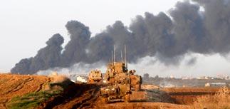 Израиль приостановил наступление в секторе Газа