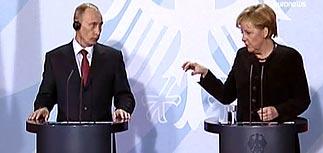 РФ и Украина виноваты в газовом кризисе обе, намекает Меркель