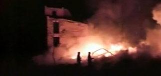Под Астраханью сгорел жилой дом - 15 погибших