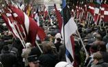 """В Риге акцию памяти легиона СС освистали антифашисты: """"Гитлер капут!"""""""