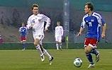 Команда Хиддинка вымучила минимальную победу над любителями из Лихтенштейна