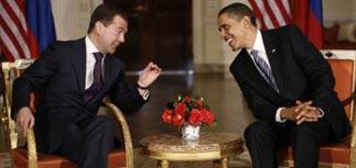 Медведев и Обама встретились, чтобы обсудить СНВ и Афганистан