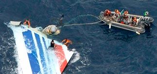 Хвост лайнера Air France поможет раскрыть тайну крушения