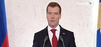 Медведев предложил в новой России ввести новое время