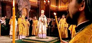 Россияне встречают великий праздник Рождества Христова