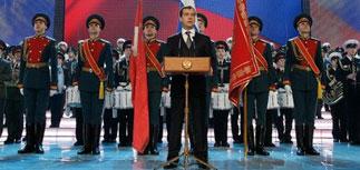 Накануне 23 февраля Медведев обещал военным служебное жилье к 2012 году
