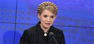 Тимошенко обещает расторгнуть соглашения с РФ по газу и флоту