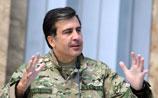 Саакашвили открыл монумент борцам с советскими и российскими солдатами