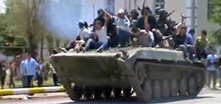 Бойня в Оше - десятки убитых, тысяча раненых. Объявлены ЧП и мобилизация