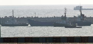 ВМС Израиля взяли судно Rachel Corrie без выстрелов