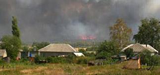 В России из-за природных пожаров горят целые деревни