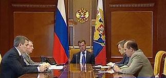 Медведев о событиях на ГЭС: повторится такое - все уволены