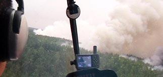 МЧС: площадь лесных пожаров растет, обстановка сложная