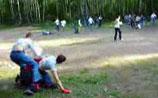Дети устроили массовую драку в лагере, куда заезжал Медведев. Мальчик лишился селезенки