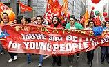 """В Европе """"забастовка десятилетия"""" против антикризисных мер: аресты, стычки с полицией"""