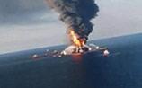 Дважды в одну реку: в Мексиканском заливе: взорвалась буровая вышка, есть утечка нефти