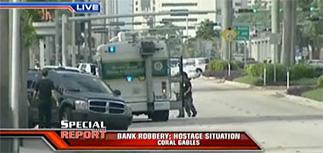 Захватившие заложников в банке бандиты обманули ФБР и ушли с деньгами