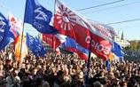 В Москве прошел первый митинг оппозиционной коалиции. Принята резолюция