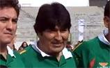 """Президент Боливии сыграл """"товарищеский матч"""" с оппозицией: едва не вышла бойня"""