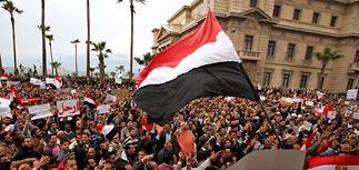 Руководство правящей партии Египта, включая Мубарака и его сына, ушло в отставку