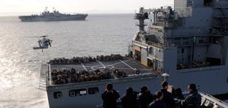 США перебрасывают к Ливии корабли и десант - тысячи морпехов