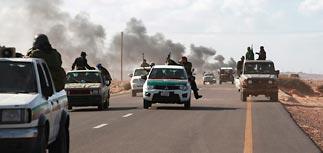 Ливийские повстанцы отпустили захваченный британский спецназ