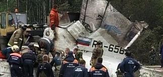 Судмедэкспертиза: штурман упавшего Ту-134 был пьян