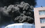 В Москве горел  бизнес-центр, только сегодня застрахованный на 4 млрд (ФОТО)