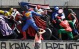 В Болгарии скульптуры советских солдат превращены в героев  комиксов. ФОТО