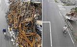 Пять месяцев тяжелого труда поднимают Японию из руин: наглядные ФОТО