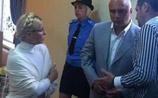 Тимошенко в СИЗО пошла синими пятнами. Ее врача к ней не пустили