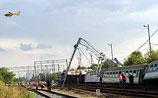 Крупная железнодорожная авария в Польше - есть погибшие, много раненых