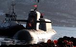 В бухте Камчатки атомный подводный крейсер столкнулся с сейнером