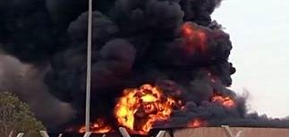 Ливия похоронила Каддафи. В городе, где его убили, мощный взрыв: до 100 погибших (ФОТО)