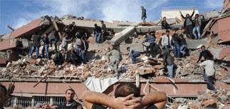 Сильное землетрясение в Турции: число жертв растет
