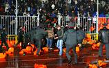 В День народного единства матч в Грозном сорван из-за массовой драки