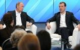 Медведев и Путин со сторонниками поговорили о ПРО, мультиках и - опять о модернизации