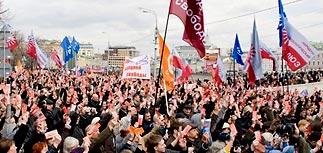 На проспекте Сахарова соберутся до 100 тыс. Определены ораторы и ведущие