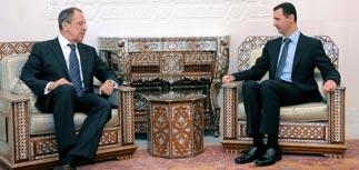 Лавров и Фрадков привезли в Сирию тайное письмо Медведева