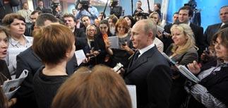 Путин уже исполняет обещания и зовет Прохорова в правительство