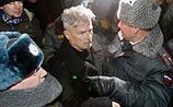 """На Триумфальной задержали Лимонова, """"Маяковского"""" и еще 60 человек"""