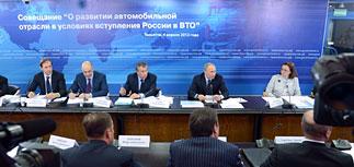 Путин пересаживает чиновников на авто местного производства