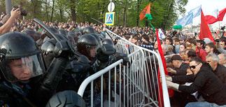 Массовые задержания на Болотной площади. Хроника