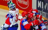 РФ одержала вторую победу подряд на ЧМ по хоккею в Швеции: вслед за Латвией пала Норвегия