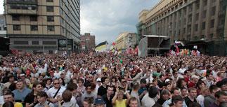 """Мирный """"Марш"""" и митинг в Москве: Кремль даже похвалил"""