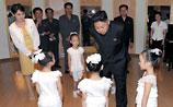 Ким Чен Ын снова появился на публике в обществе таинственной дамы (ФОТО)