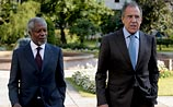 Встреча Лаврова и Аннана в Москве: два часа говорили о Сирии и молча разъехались
