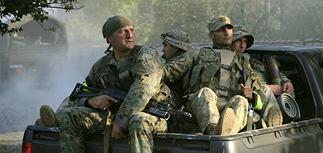 """Спецназ Грузии бьется с """"бородачами из Дагестана"""""""