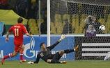 Российским футболистам впервые удалось обыграть португальцев