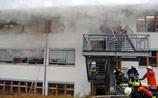 Пожар в немецкой мастерской для инвалидов погубил 14 человек